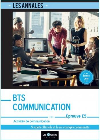 BTS Communication - Épreuve E5