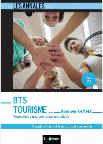 BTS Tourisme - Épreuve E4-U42