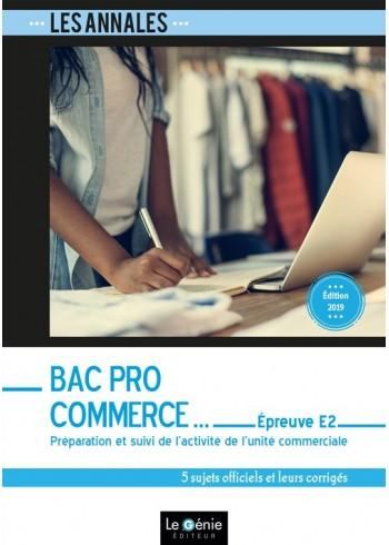 Bac Pro Commerce - Épreuve E2