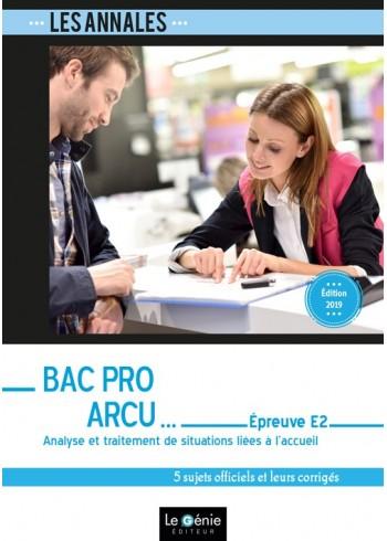 Bac Pro ARCU - Épreuve E2