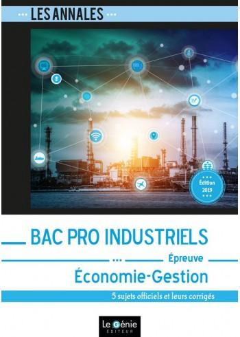 Bac Pro Industriels - Économie-Gestion