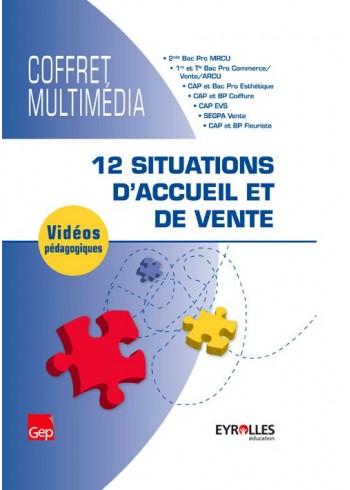 Coffret multimédia - 12 situations d'accueil et de vente