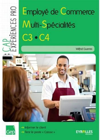 Employé de commerce multi-spécialités - C3.C4