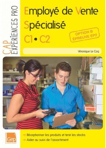 Employé de vente spécialisé - C1.C2 - Option B