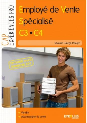 Employé de vente spécialisé - C3.C4 - Option A et B