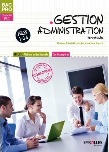 Gestion administration - Terminale - Pôles 1, 3 & 4