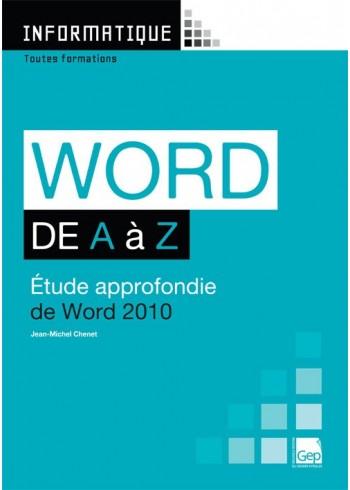 Word 2010 de A à Z