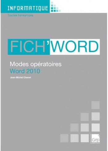 Fich'Word 2010